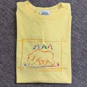 •Vintage• Yellowstone National Park Bear T-Shirt